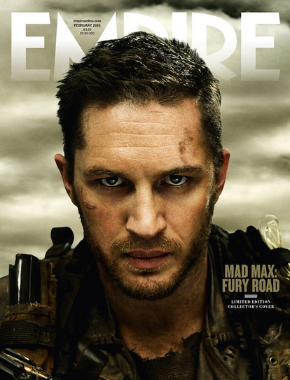 Tom Hardy Mad Max Fury Road Empire Mag cover