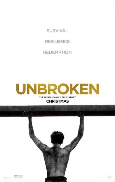 Unbroken movie poster