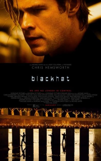 blackhat CHris Hemsworth movie poster