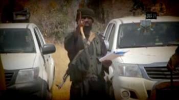 Abubakar Shekau in new YouTube video, threatening the region   photo/ screenshot