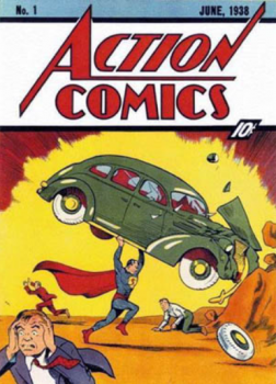 Action Comics #1 first appearance of Superman