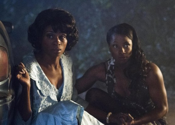 Adina Porter and Rutina Wesley in True Blood