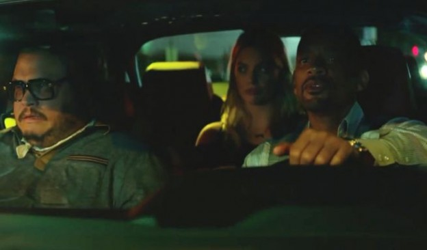 Focus movie photo Adrian Martinez  Margot Robbie Will Smith