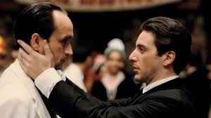 Fredo and Michael The Godfather part II photo