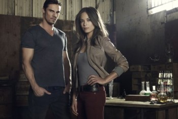 Jay Ryan Kristen Kreuk Beauty and the Beast banner