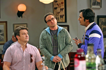 Nathan Fillion appearance on The Big Bang Theory