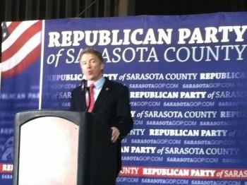 Rand Paul in Sarasota 2/14/15 Image/Robert Herriman