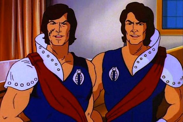"""Tomax and Xamot from the """"GI Joe"""" animated series"""