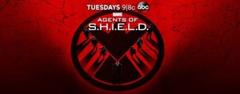 Agents of SHIELD season 2 banner red logo