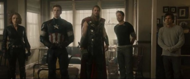 Avengers Age of Ultron team photo