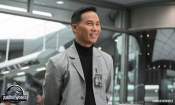 BD Wong as Dr Henry Wu Jurassic World photo