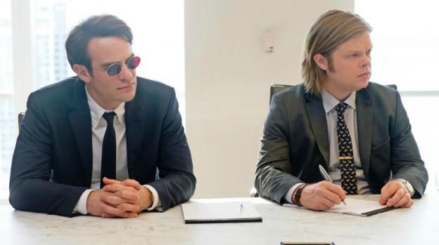 Daredevil-Empire- photo Charlie Cox Elden Henson as Foggy