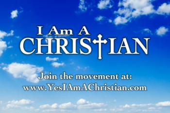I Am a CHristian banner ad
