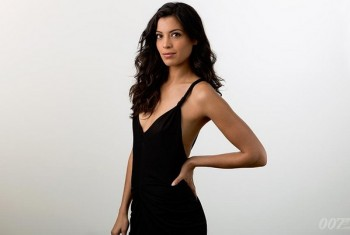 "Meet Stephanie Sigma, the new Bond Girl in ""Spectre""  photo/ twitter"