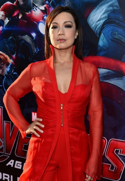 Agents of SHIELD star Ming Na Wen at Avengers Age of Ultron premiere