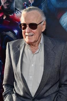 Avengers Age of Ultron premiere stan Lee