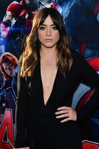 "Chloe Bennet at the world premiere of Marvel's ""Avengers: Age Of Ultron"" at the Dolby Theatre on April 13, 2015 in Hollywood, California."