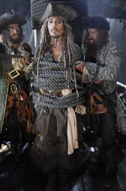 Johnny Depp PIrates of the caribbean Dead men tell no tales photo