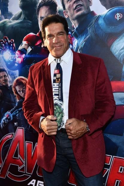 Lou Ferrigno Avengers Age of Ultron world premiere
