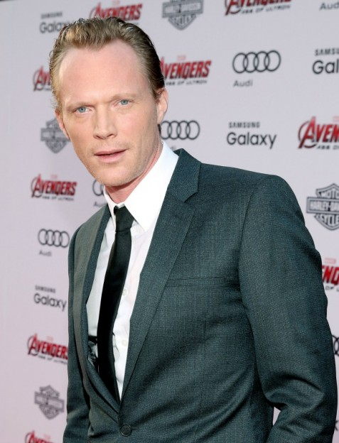 "Paul Bettany at the world premiere of Marvel's ""Avengers: Age Of Ultron"" at the Dolby Theatre on April 13, 2015 in Hollywood, California."