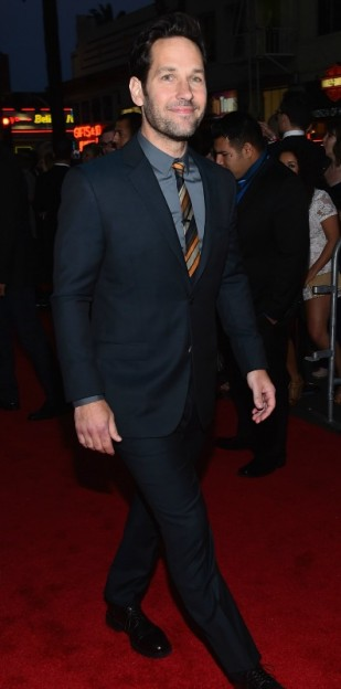 Paul Rudd arriving Avengers Age of Ultron