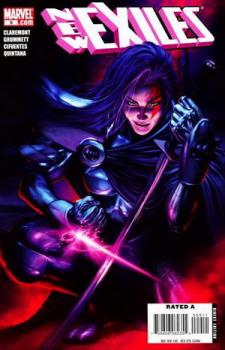 Psylocke cover New Exiles 9