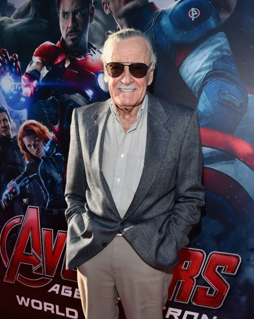 Stan Lee at Avengers Age of Ultron world premiere