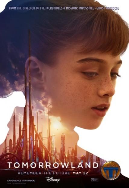 Tomorrow land movie poster die cut