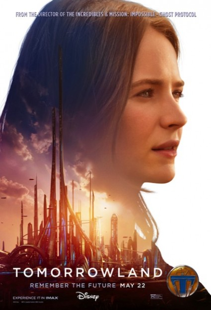 Tomorrowland Britt Robertson movie poster