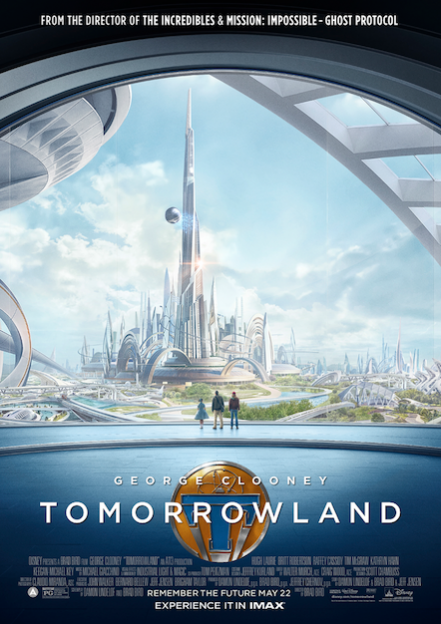 Tomorrowland IMAX movie poster