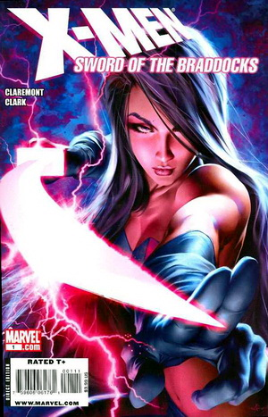 X-Men Psylocke cover