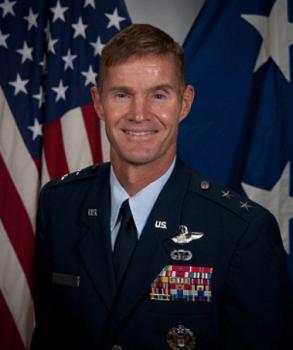 Air force Major General Craig Olson