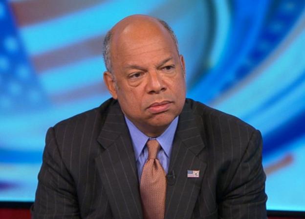 Jeh Johnson DHS on ABC talking ISIS threats