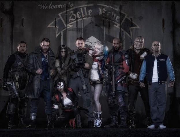 Suicide Squad cast photo