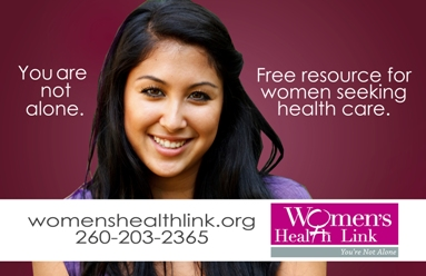 Women's Health Link ad refused by Fort Wayne Indiana bus system