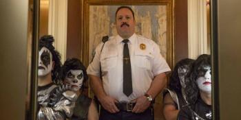 paul-blart-mall-cop-2-kevin-james- mini Kiss in elevator