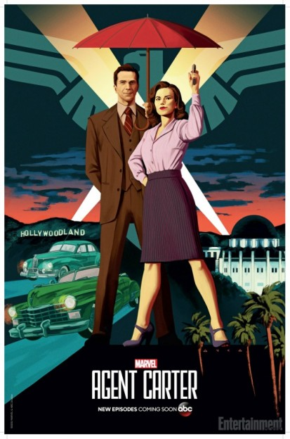 Agent Carter season 2 poster SDCC