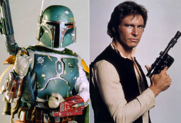Boba Fett Han Solo Star Wars photo