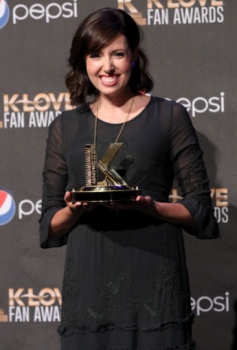 Francesca Battistelli wins Klove Female Artist of the Year