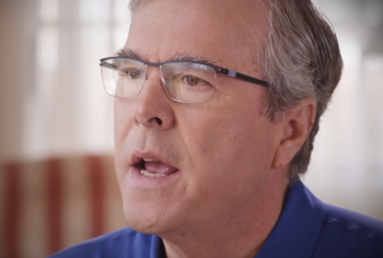Jeb Bush in 2016  photo/ screenshot of new video