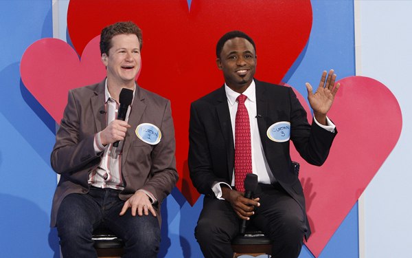 Jonathan Mangum Wayne Brady photo