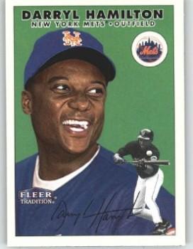 darryl Hamilton baseball card New York mets