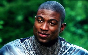 """Sinqua Walls as Lancelot in """"Once Upon a Time"""""""