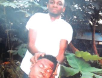 Africa man uyo murder dismember body killing carrying head