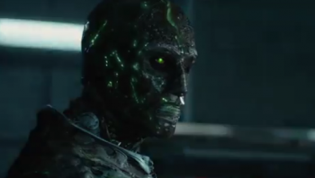 "Toby Kebbell's Doctor Doom in ""Fantastic Four"""