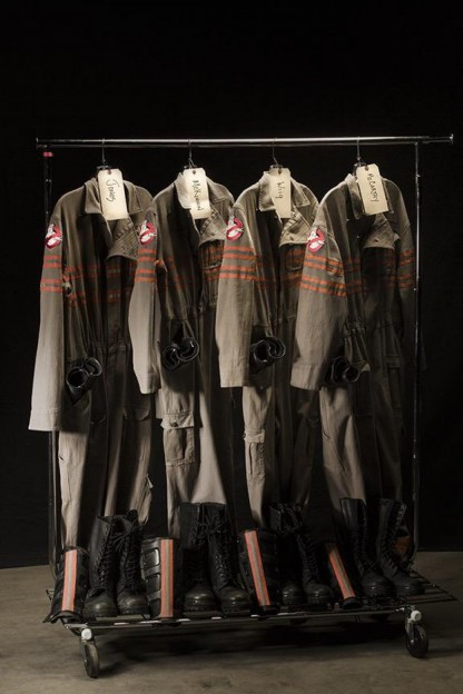 Ghostbusters uniforms Paul Feig twitter