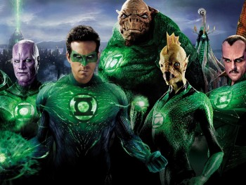 Green Lantern Corps banner