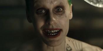 Jared Leto Joker in Suicide Squad trailer