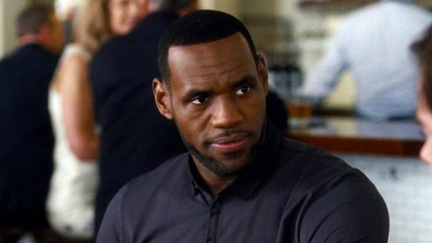 "Lebron James as the ""Downton Abbey"" loving best friend in ""Trainwreck"""
