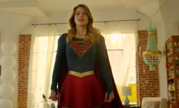 Melissa Benoist as Supergirl CBS TV show